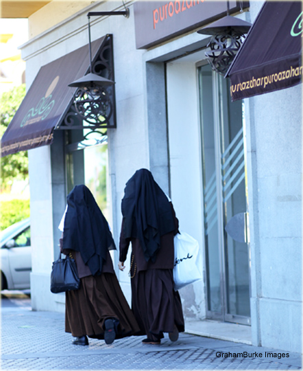 Nuns1 Shopping Run