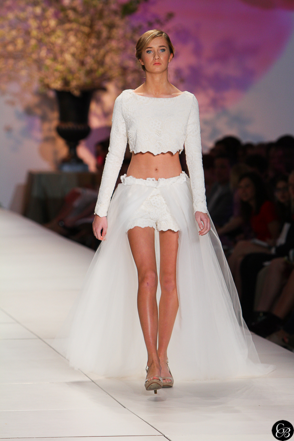 ChasFW15 0918 Seen on the Runway   Bridal Wear